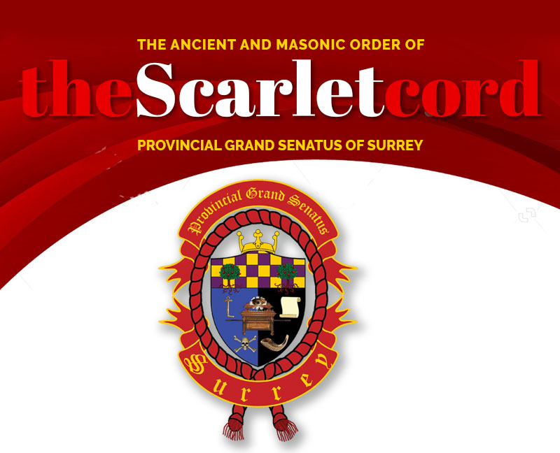 The Ancient and Masonic Order of The Scarlet Cord Provincial Grand Senatus of Surrey