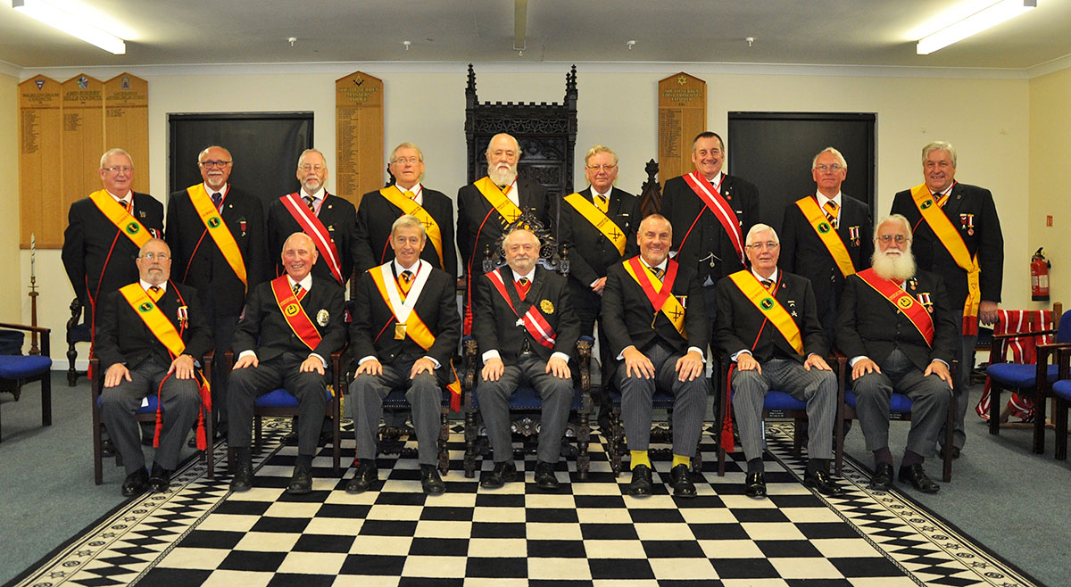 The Consecration of Warlingham Consistory