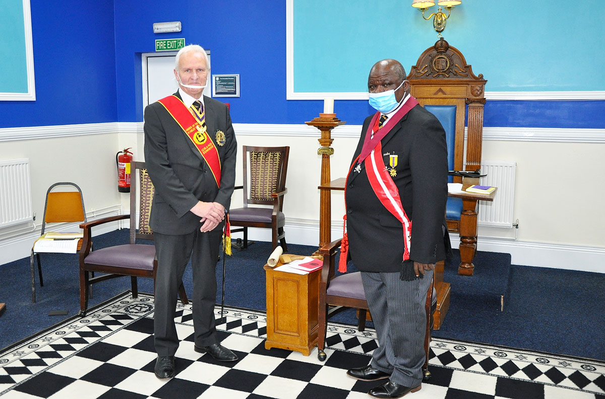 The Installation Meeting of Hill of Zion Consistory